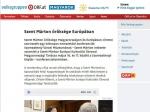 Szent Márton öröksége Európában/Das Vermächtnis des heiligen Martin in Europa